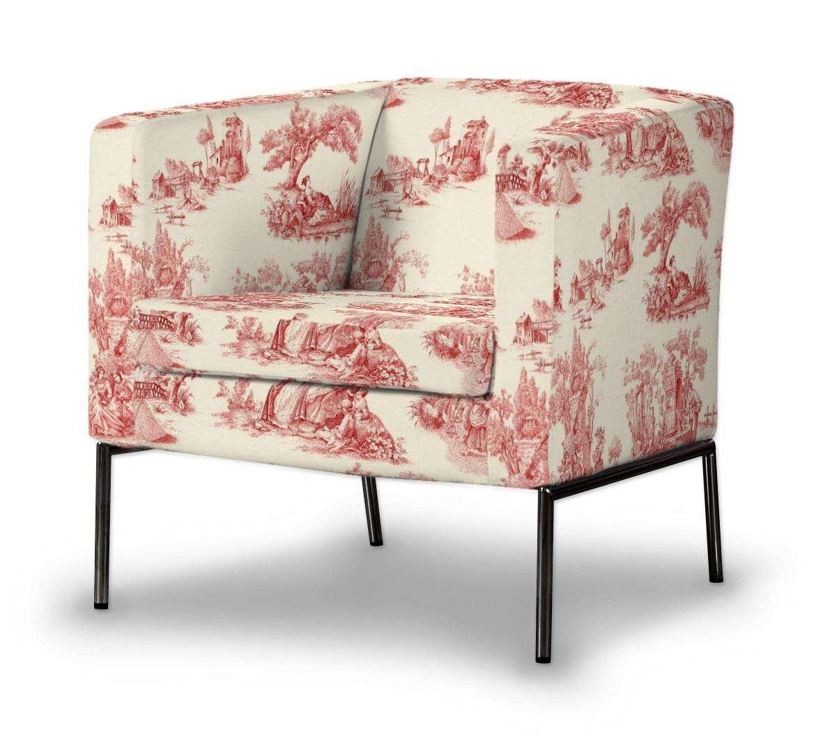 Pokrowiec na fotel Klappsta Fotel Klappsta w kolekcji Avinon, tkanina: 132-15