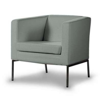 Potah na křeslo IKEA Klappsta, krátký 160-86 šedá mátová Kolekce Living II