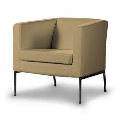 Pokrowiec na fotel Klappsta 160-93 piaskowy szenil Kolekcja Living II