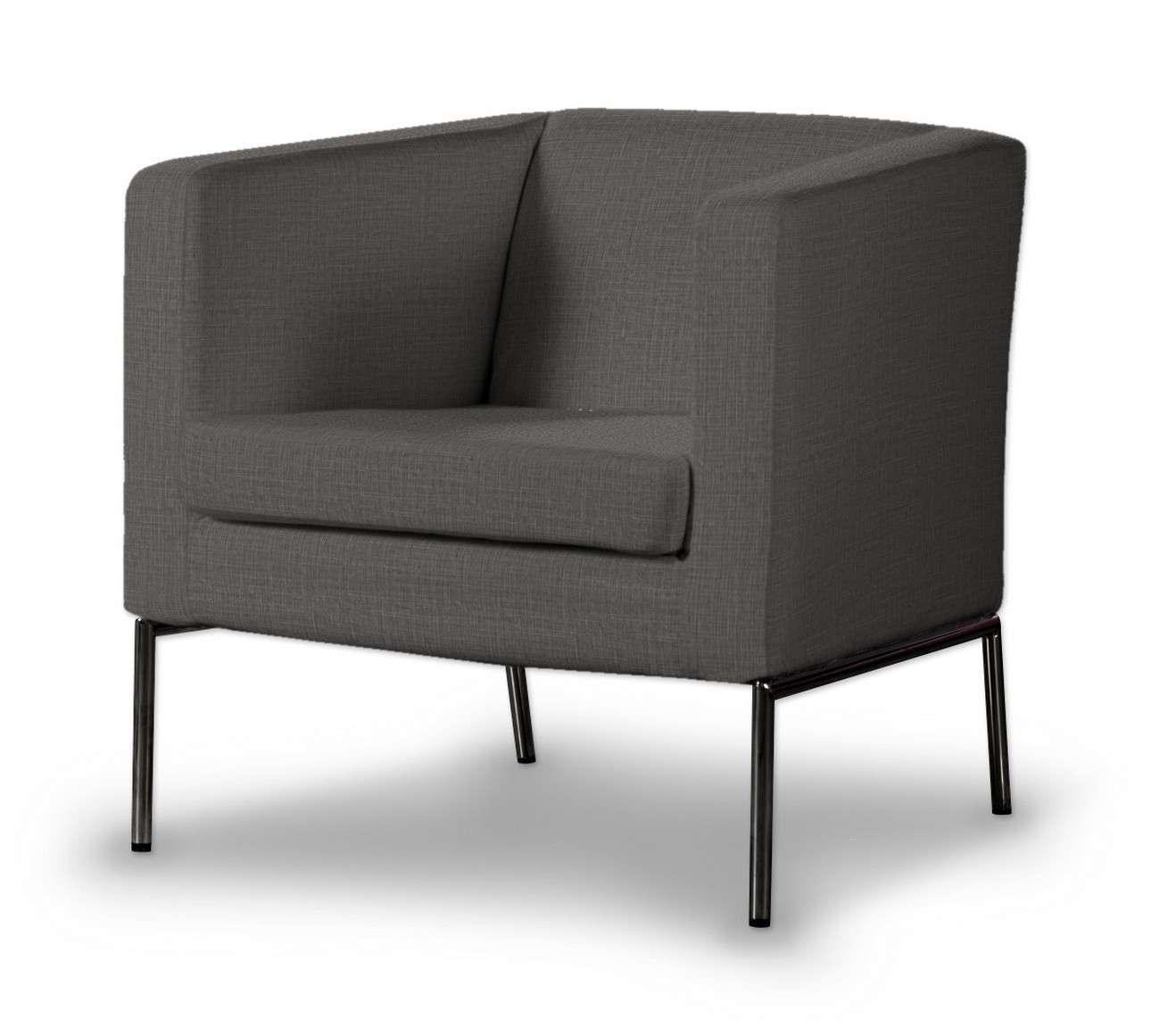 Pokrowiec na fotel Klappsta w kolekcji Living, tkanina: 161-16