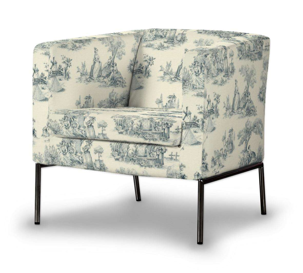 Pokrowiec na fotel Klappsta Fotel Klappsta w kolekcji Avinon, tkanina: 132-66