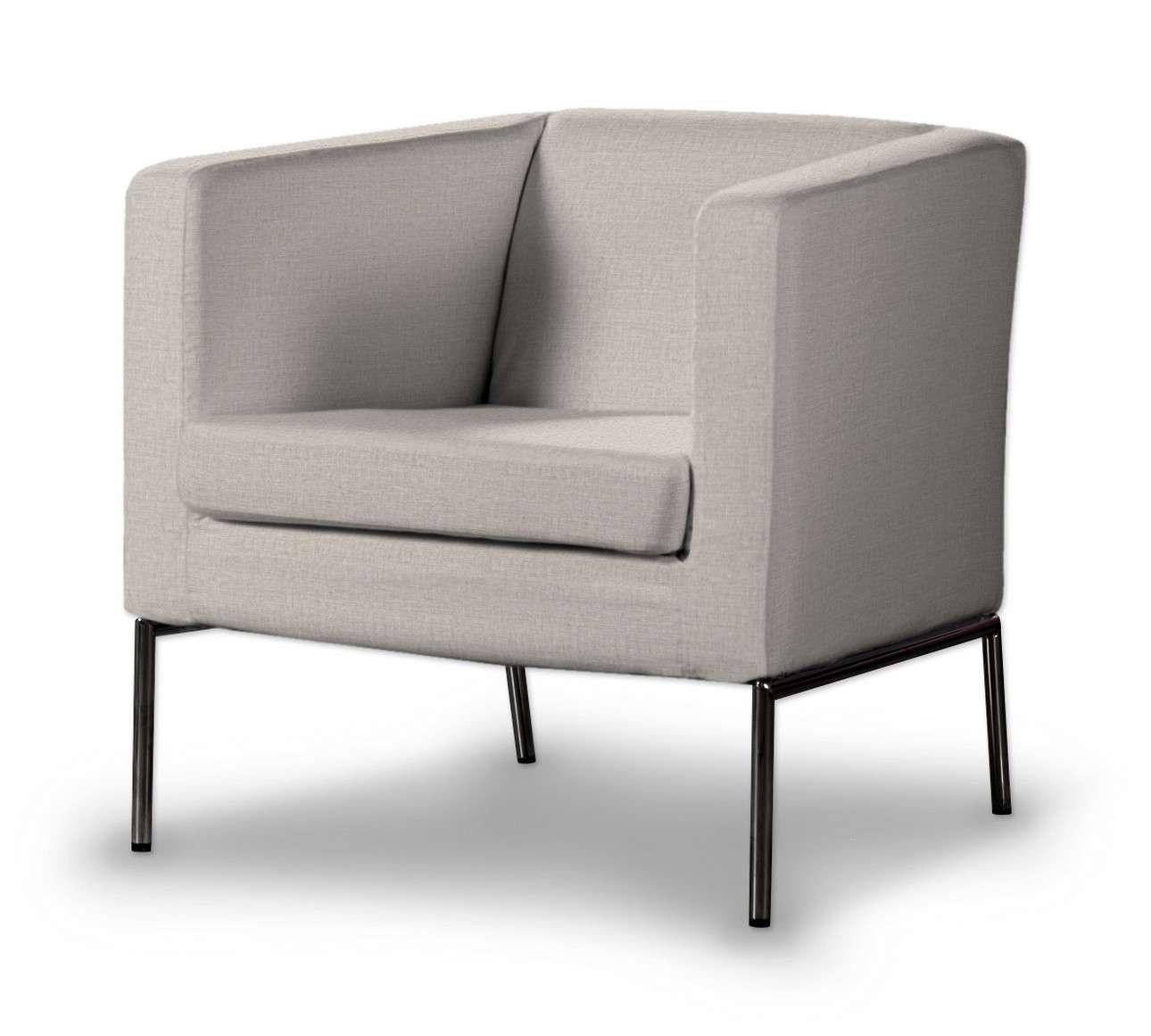 Pokrowiec na fotel Klappsta w kolekcji Living, tkanina: 161-00