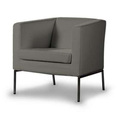 Potah na křeslo IKEA Klappsta, krátký 161-25 šedá Kolekce Etna