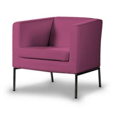 Pokrowiec na fotel Klappsta w kolekcji Living, tkanina: 161-29