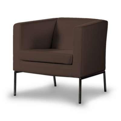 KLAPPSTA fotelio užvalkalas 161-73 šokoladinė Kolekcija Bergen