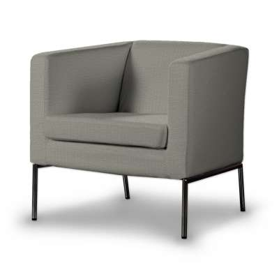Pokrowiec na fotel Klappsta 161-83 jasno szara jodełka Kolekcja Bergen