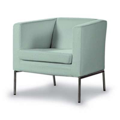 Pokrowiec na fotel Klappsta 161-61 pastelowy błękit Kolekcja Living