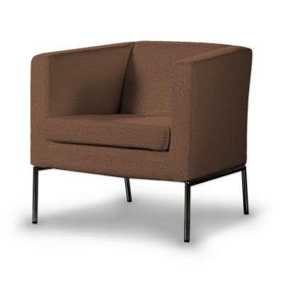 Pokrowiec na fotel Klappsta 161-65 brunatny szenil Kolekcja Living