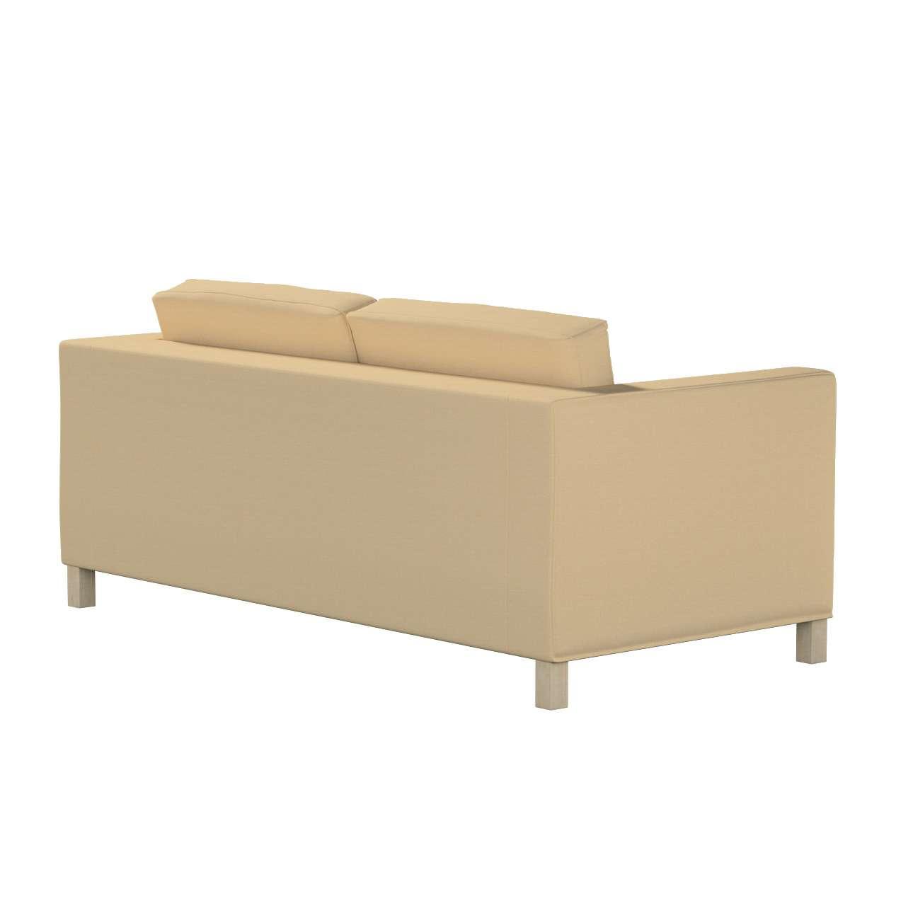 IKEA zitbankhoes/ overtrek voor Karlanda slaapbank, kort van de collectie Cotton Panama, Stof: 702-01