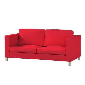 Pokrowiec na sofę Karlanda rozkładaną, krótki Sofa Karlanda rozkładana w kolekcji Cotton Panama, tkanina: 702-04