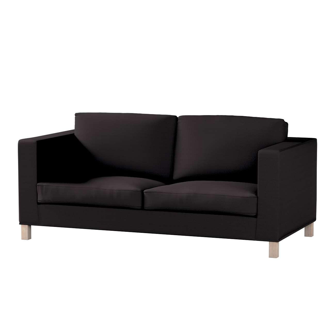 Pokrowiec na sofę Karlanda rozkładaną, krótki Sofa Karlanda rozkładana w kolekcji Cotton Panama, tkanina: 702-08