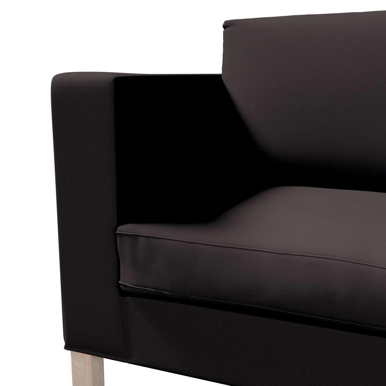 Potah na pohovku IKEA  Karlanda rozkládací, krátký v kolekci Cotton Panama, látka: 702-09