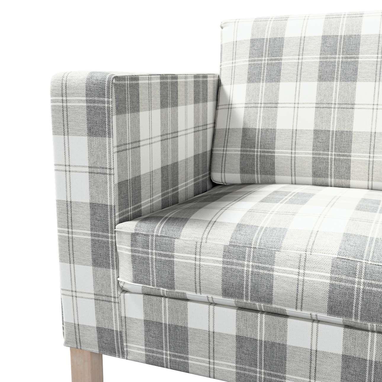 Pokrowiec na sofę Karlanda rozkładaną, krótki w kolekcji Edinburgh, tkanina: 115-79