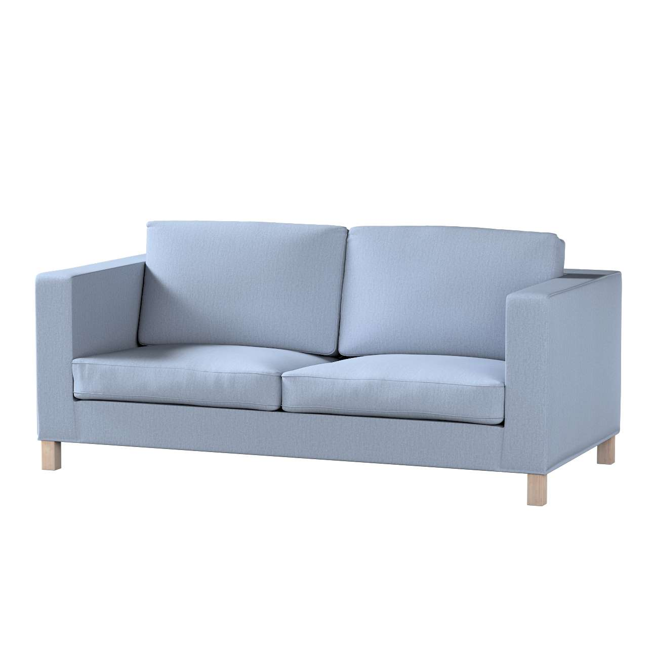 Blauwe Ikea Slaapbank.Ikea Zitbankhoes Overtrek Voor Karlanda Slaapbank Kort Zilver