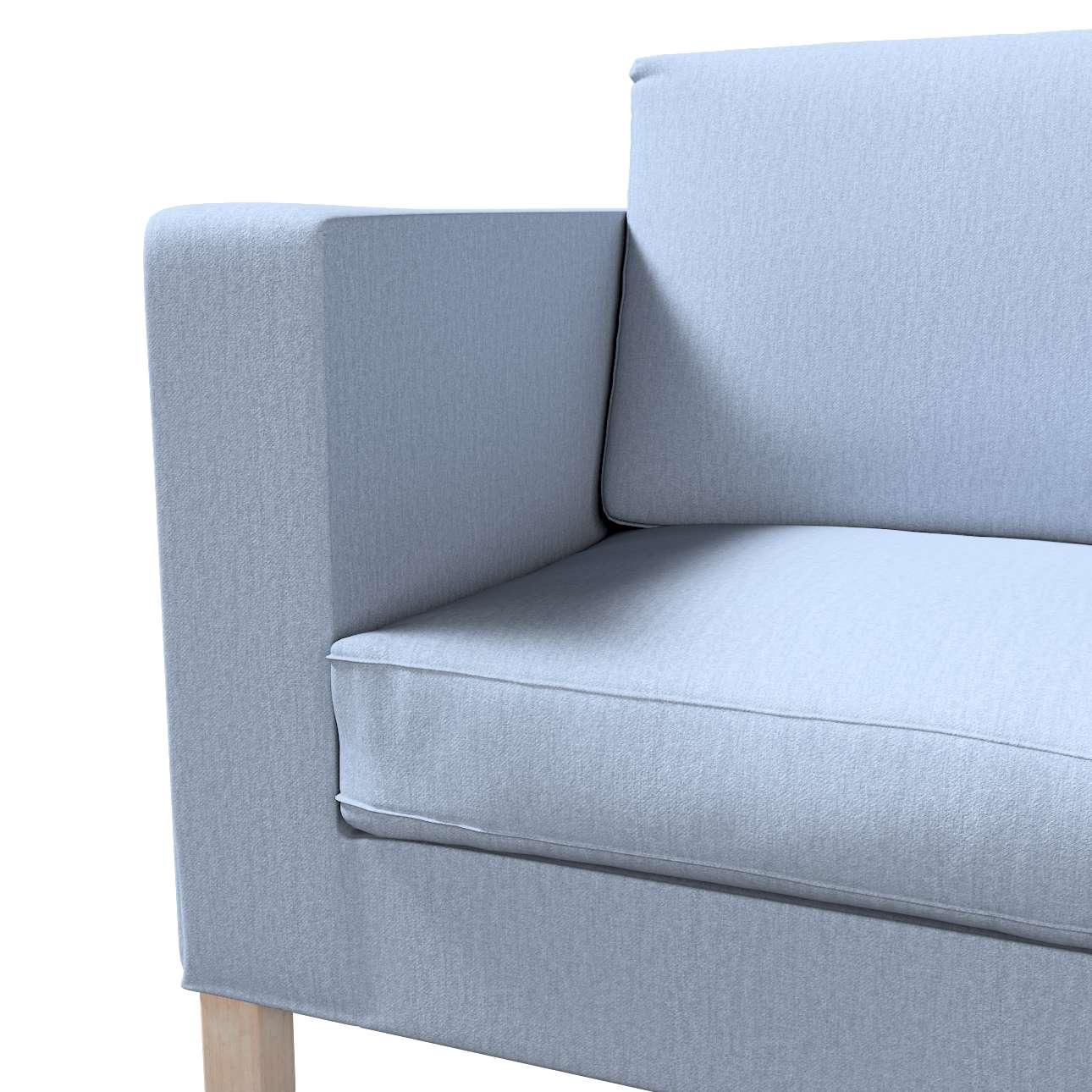Pokrowiec na sofę Karlanda rozkładaną, krótki w kolekcji Chenille, tkanina: 702-13