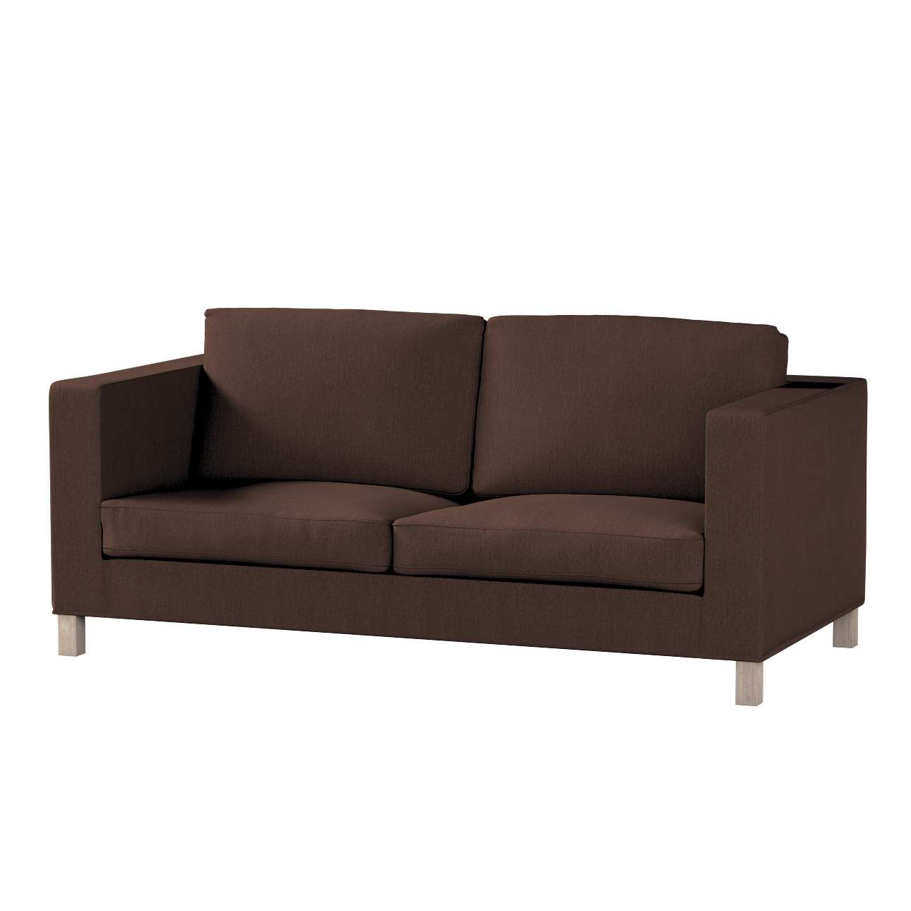 Pokrowiec na sofę Karlanda rozkładaną, krótki Sofa Karlanda rozkładana w kolekcji Chenille, tkanina: 702-18