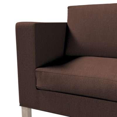 Pokrowiec na sofę Karlanda rozkładaną, krótki w kolekcji Chenille, tkanina: 702-18