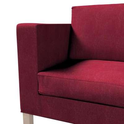 Pokrowiec na sofę Karlanda rozkładaną, krótki w kolekcji Chenille, tkanina: 702-19