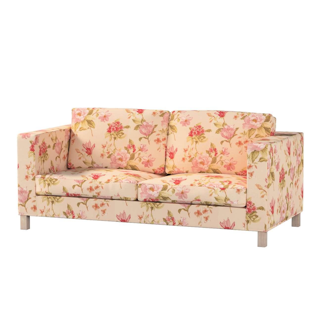 Pokrowiec na sofę Karlanda rozkładaną, krótki Sofa Karlanda rozkładana w kolekcji Londres, tkanina: 123-05