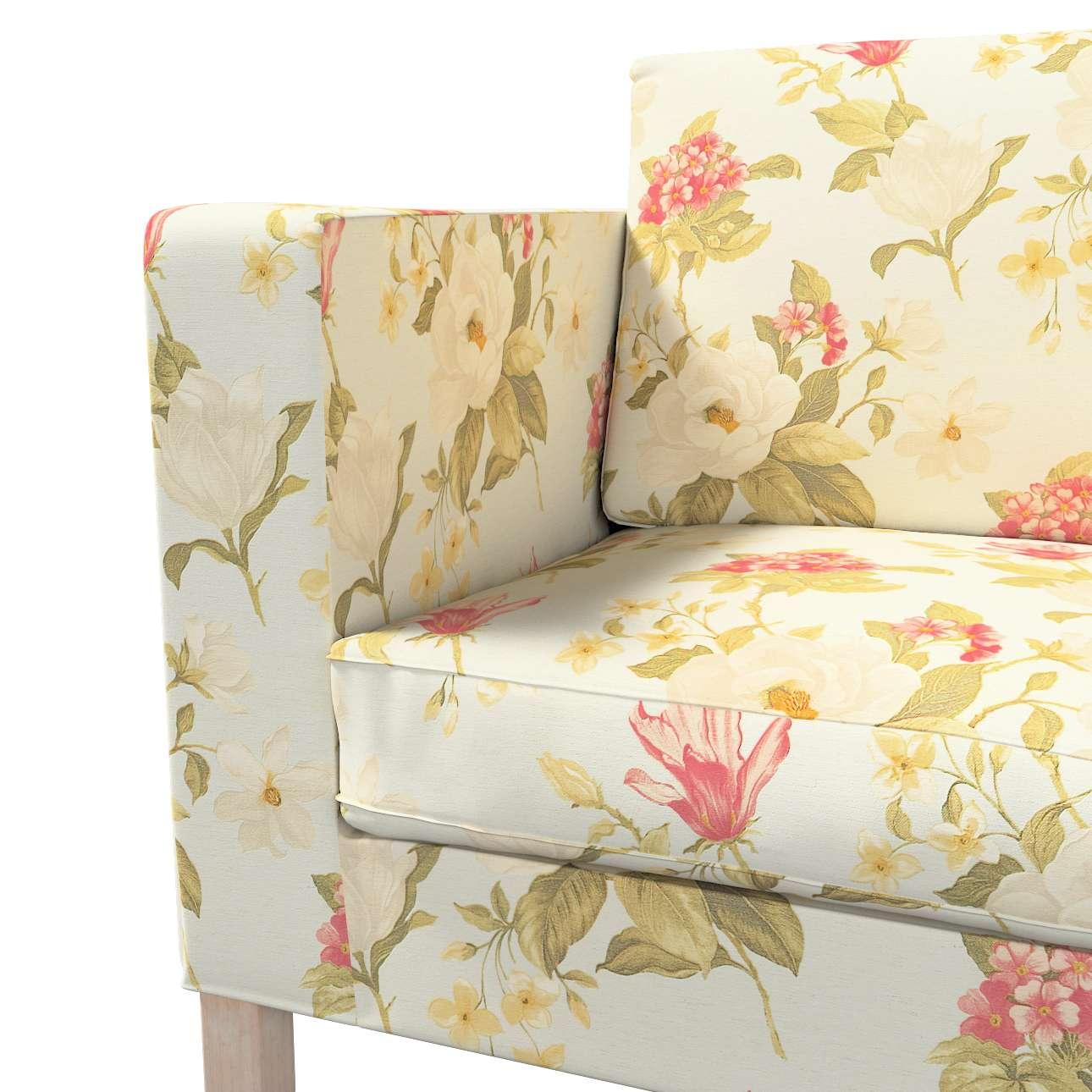 Pokrowiec na sofę Karlanda rozkładaną, krótki w kolekcji Londres, tkanina: 123-65