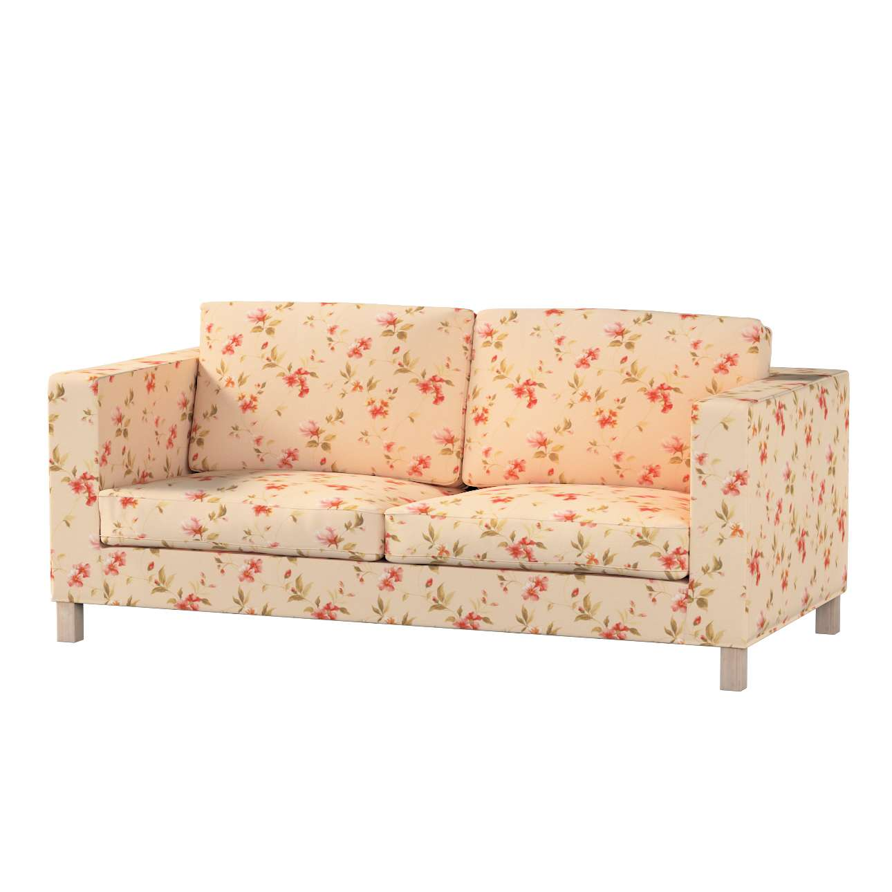 Pokrowiec na sofę Karlanda rozkładaną, krótki Sofa Karlanda rozkładana w kolekcji Londres, tkanina: 124-05