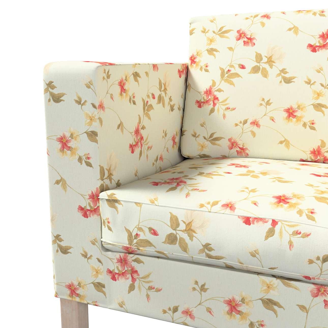 Potah na pohovku IKEA  Karlanda rozkládací, krátký v kolekci Londres, látka: 124-65