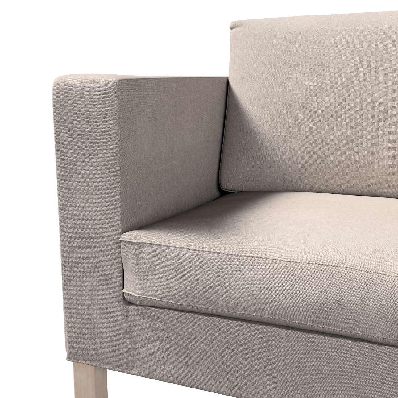 Pokrowiec na sofę Karlanda rozkładaną, krótki w kolekcji Etna, tkanina: 705-09