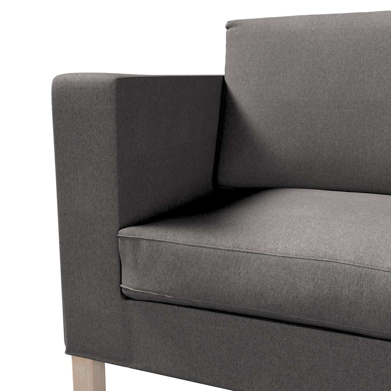 Pokrowiec na sofę Karlanda rozkładaną, krótki w kolekcji Etna, tkanina: 705-35