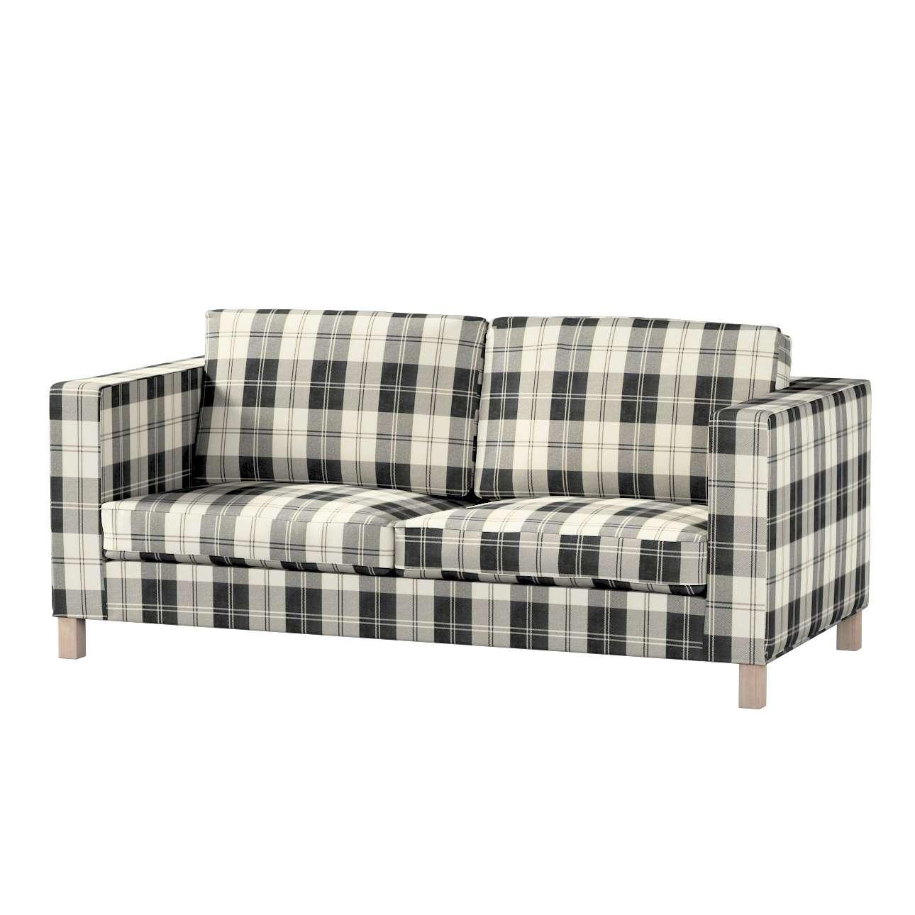 Pokrowiec na sofę Karlanda rozkładaną, krótki Sofa Karlanda rozkładana w kolekcji Edinburgh, tkanina: 115-74