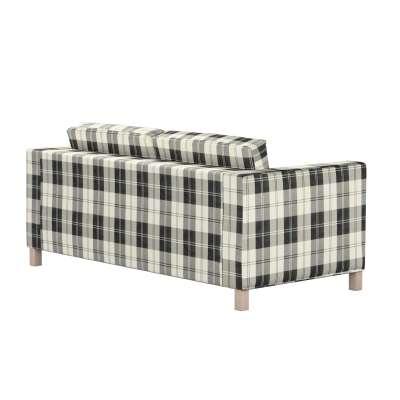 KARLANDA sofos lovos užvalkalas 115-74 juodi ir šviesūs kvadratai Kolekcija Edinburgh