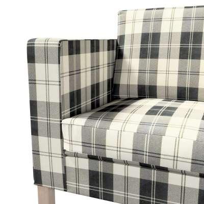 Karlanda nyitható kanapé huzat rövid a kollekcióból Edinburgh Bútorszövet, Dekoranyag: 115-74