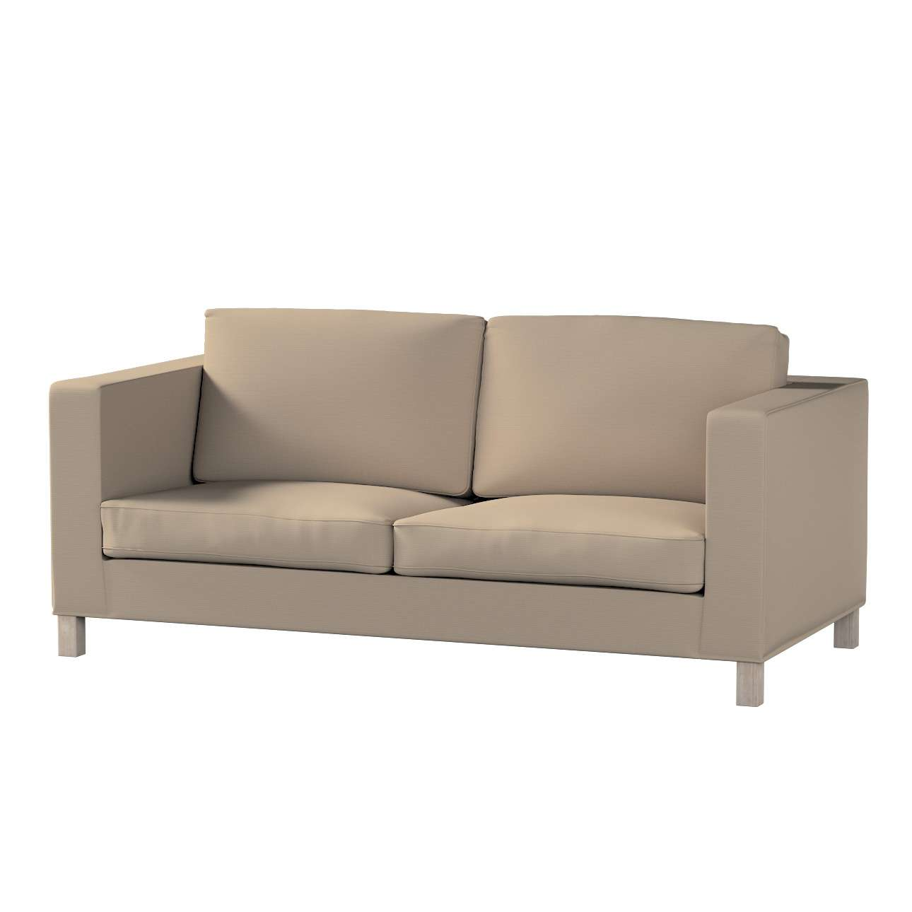 Karlanda nyitható kanapé huzat rövid a kollekcióból Cotton Panama Bútorszövet, Dekoranyag: 702-28
