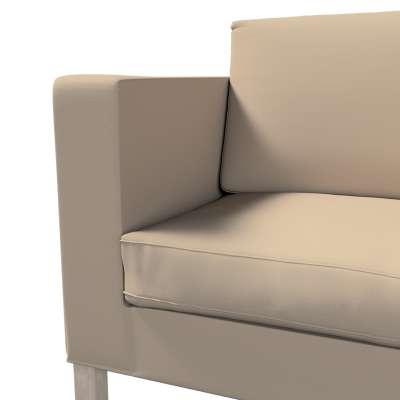 Pokrowiec na sofę Karlanda rozkładaną, krótki w kolekcji Cotton Panama, tkanina: 702-28
