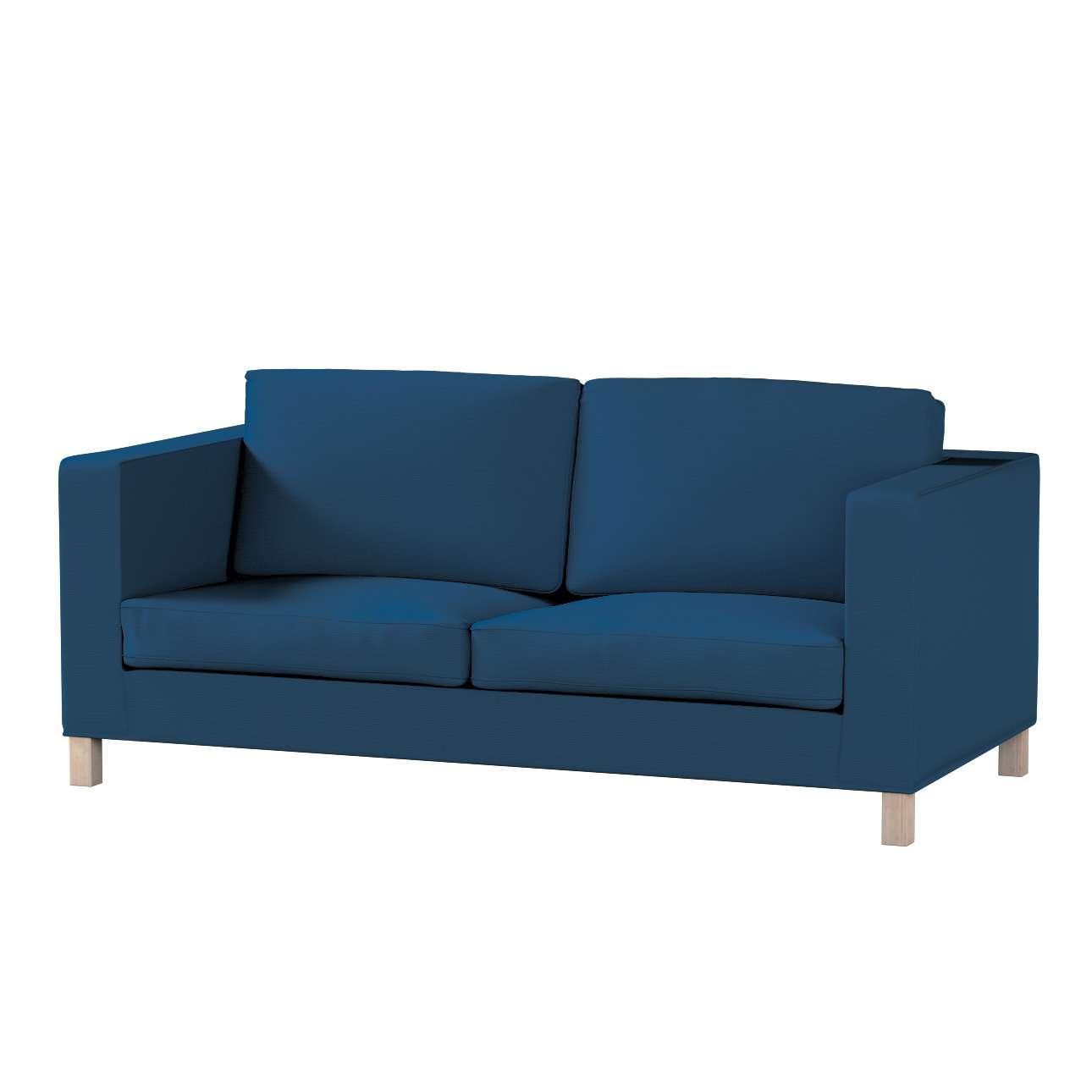 Pokrowiec na sofę Karlanda rozkładaną, krótki Sofa Karlanda rozkładana w kolekcji Cotton Panama, tkanina: 702-30