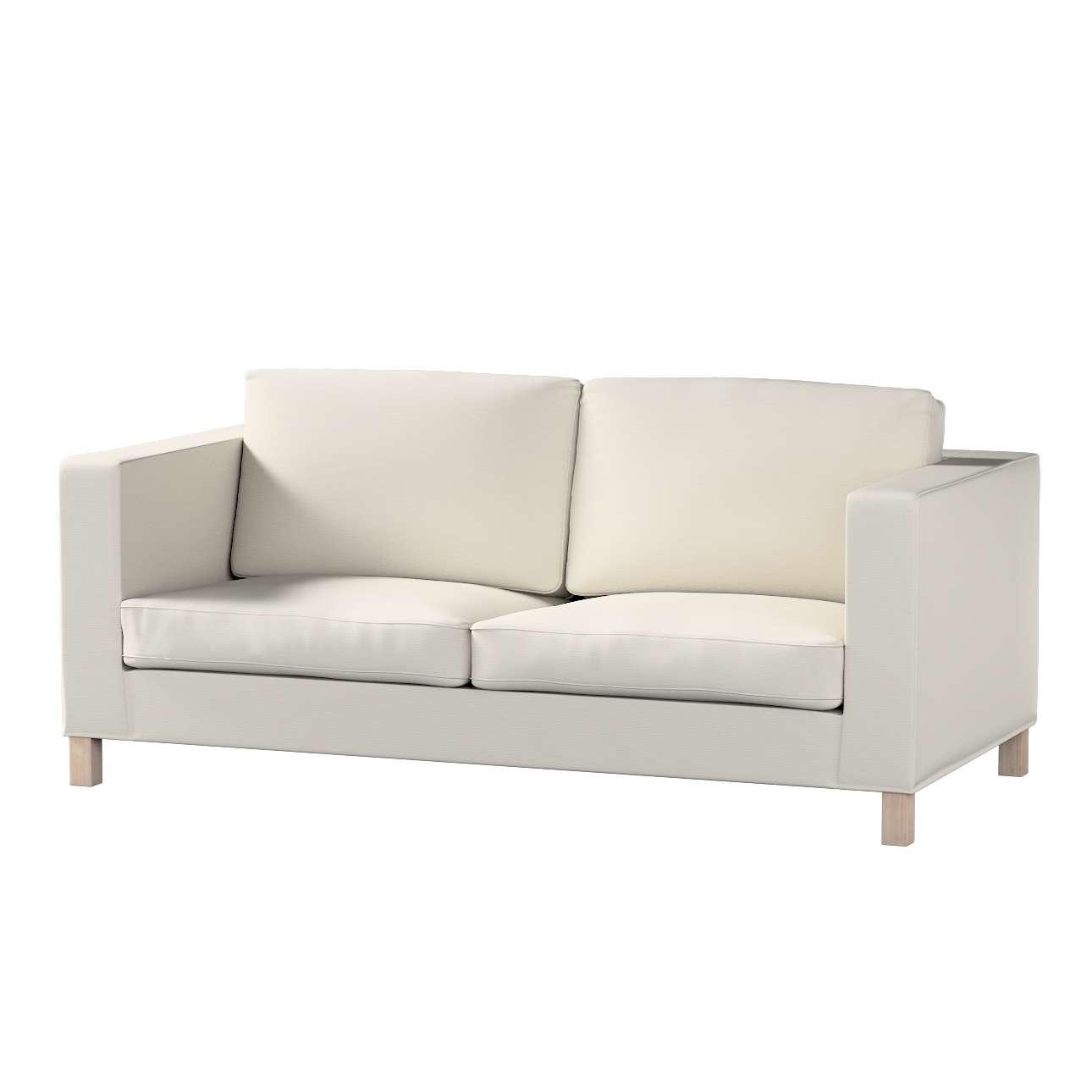 Pokrowiec na sofę Karlanda rozkładaną, krótki Sofa Karlanda rozkładana w kolekcji Cotton Panama, tkanina: 702-31