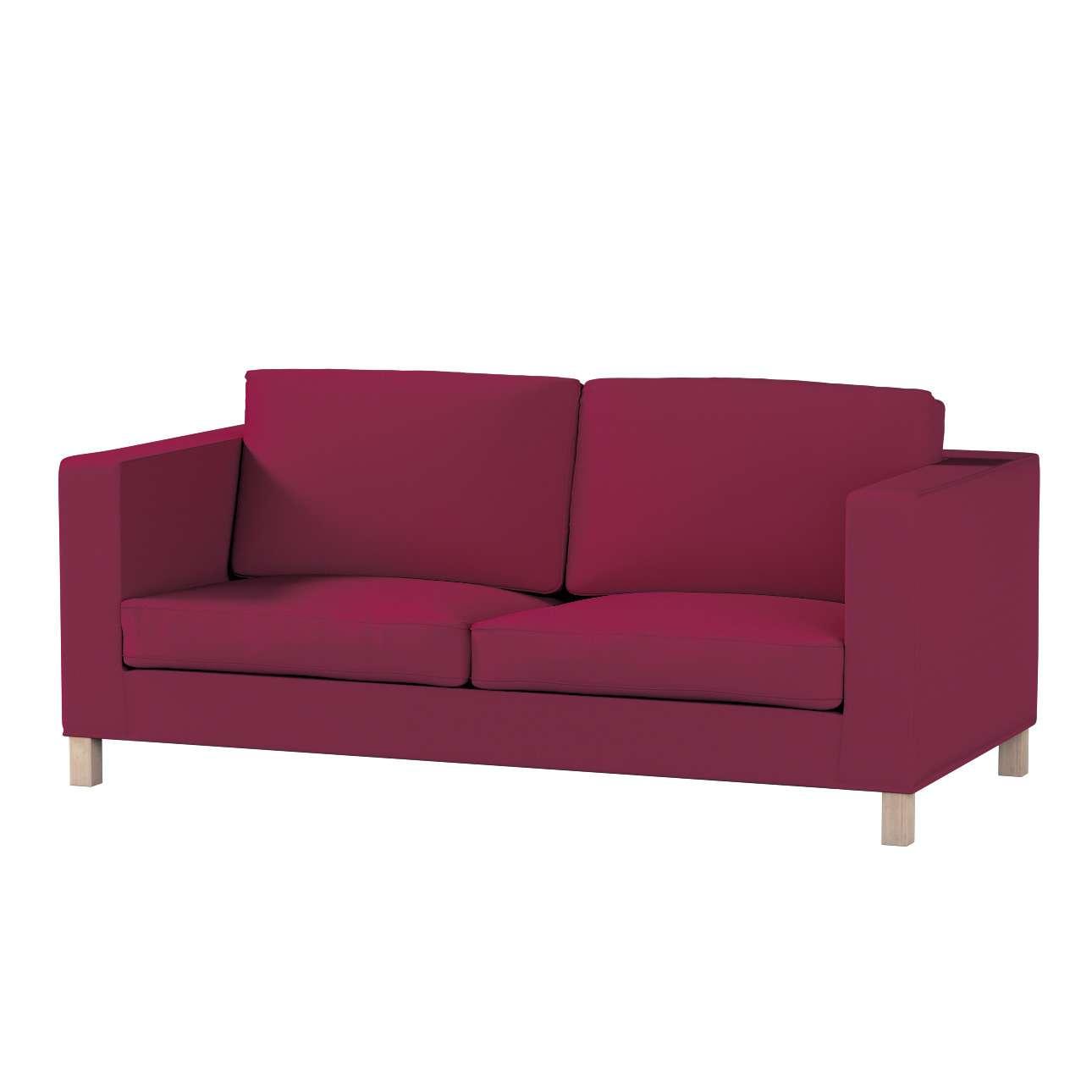 Karlanda nyitható kanapé huzat rövid a kollekcióból Cotton Panama Bútorszövet, Dekoranyag: 702-32