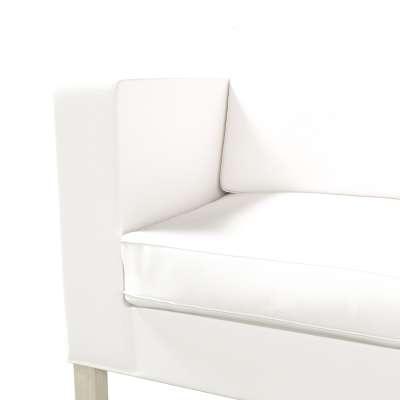 Bezug für Karlanda Schlafsofa, kurz von der Kollektion Cotton Panama, Stoff: 702-34