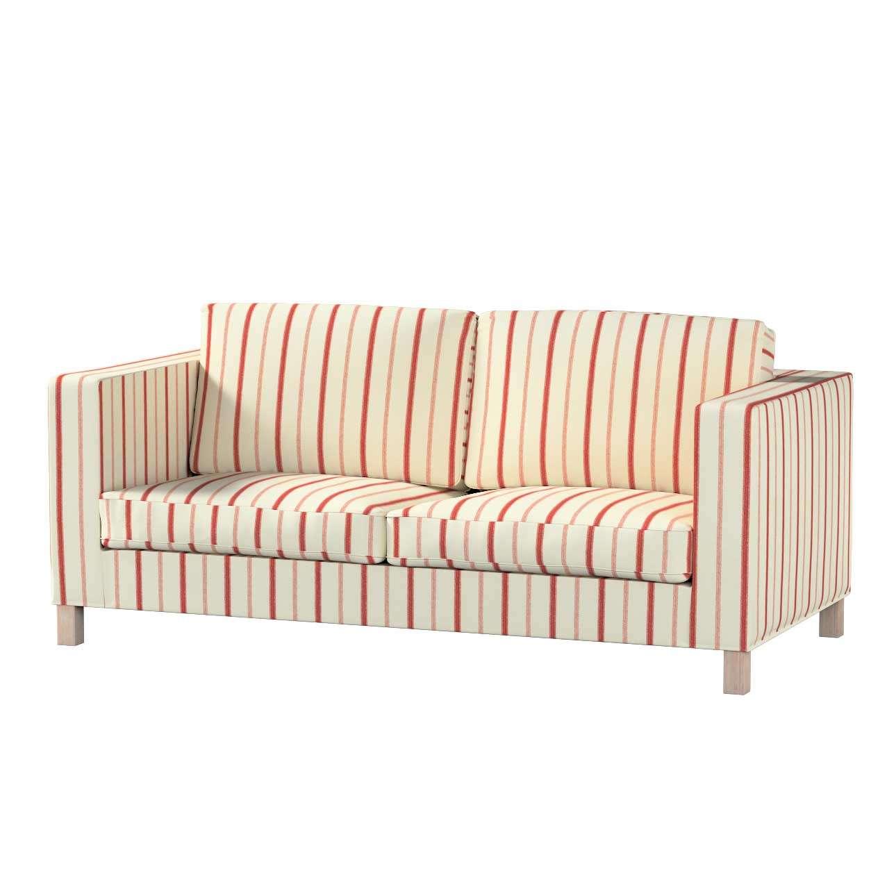 Pokrowiec na sofę Karlanda rozkładaną, krótki Sofa Karlanda rozkładana w kolekcji Avinon, tkanina: 129-15