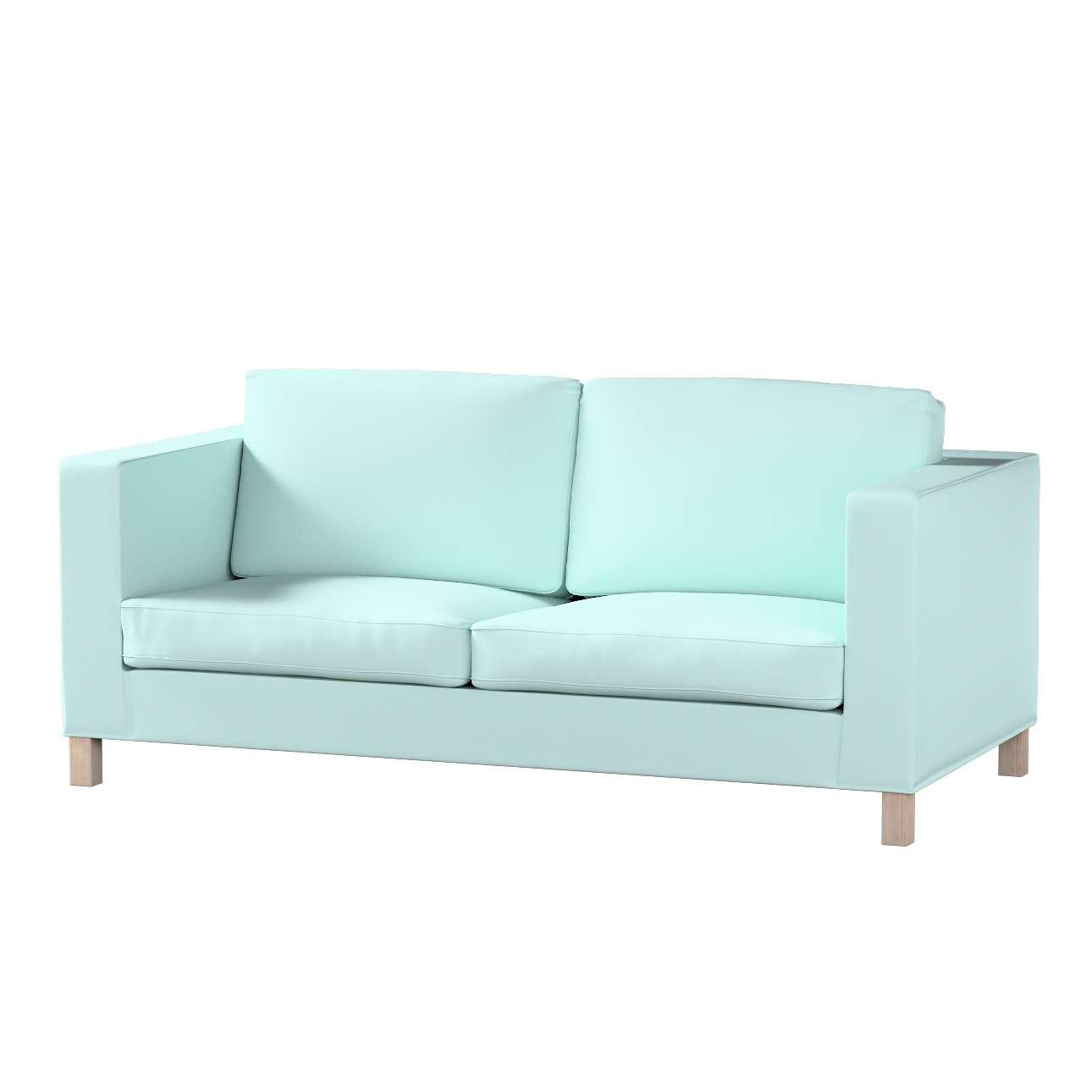 Karlanda nyitható kanapé huzat rövid a kollekcióból Cotton Panama Bútorszövet, Dekoranyag: 702-10