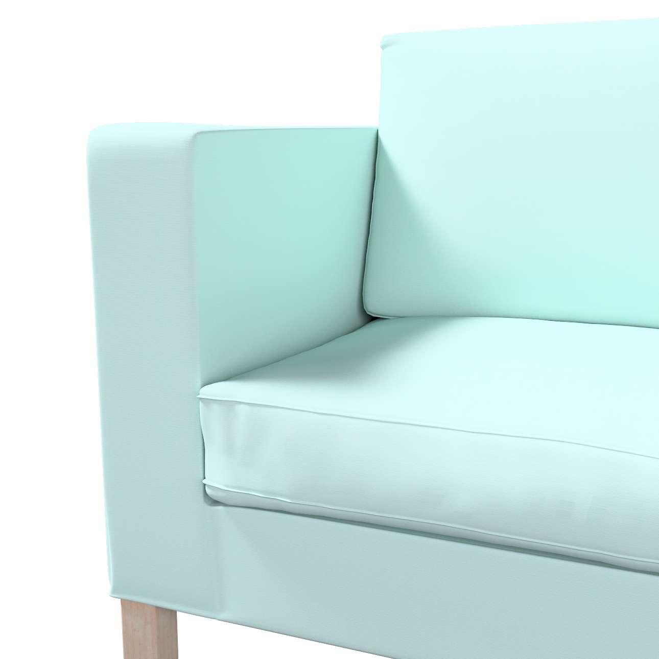 IKEA zitbankhoes/ overtrek voor Karlanda slaapbank, kort van de collectie Cotton Panama, Stof: 702-10
