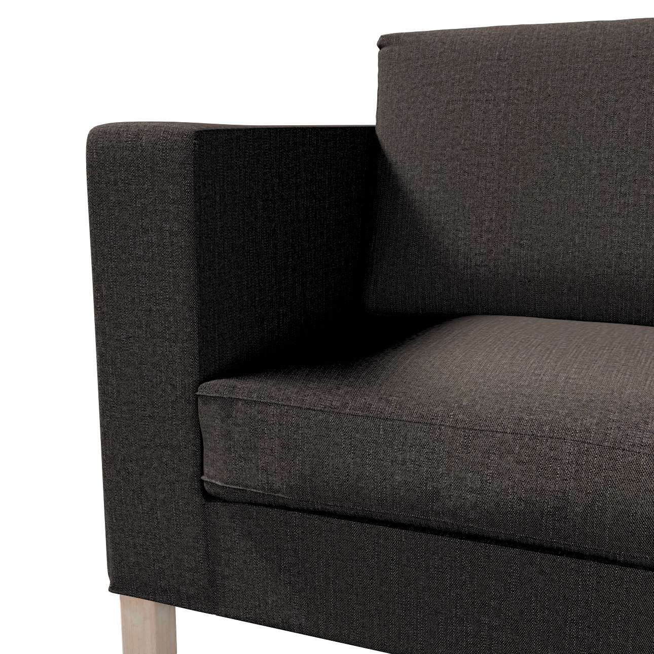Potah na pohovku IKEA  Karlanda rozkládací, krátký v kolekci Etna, látka: 702-36