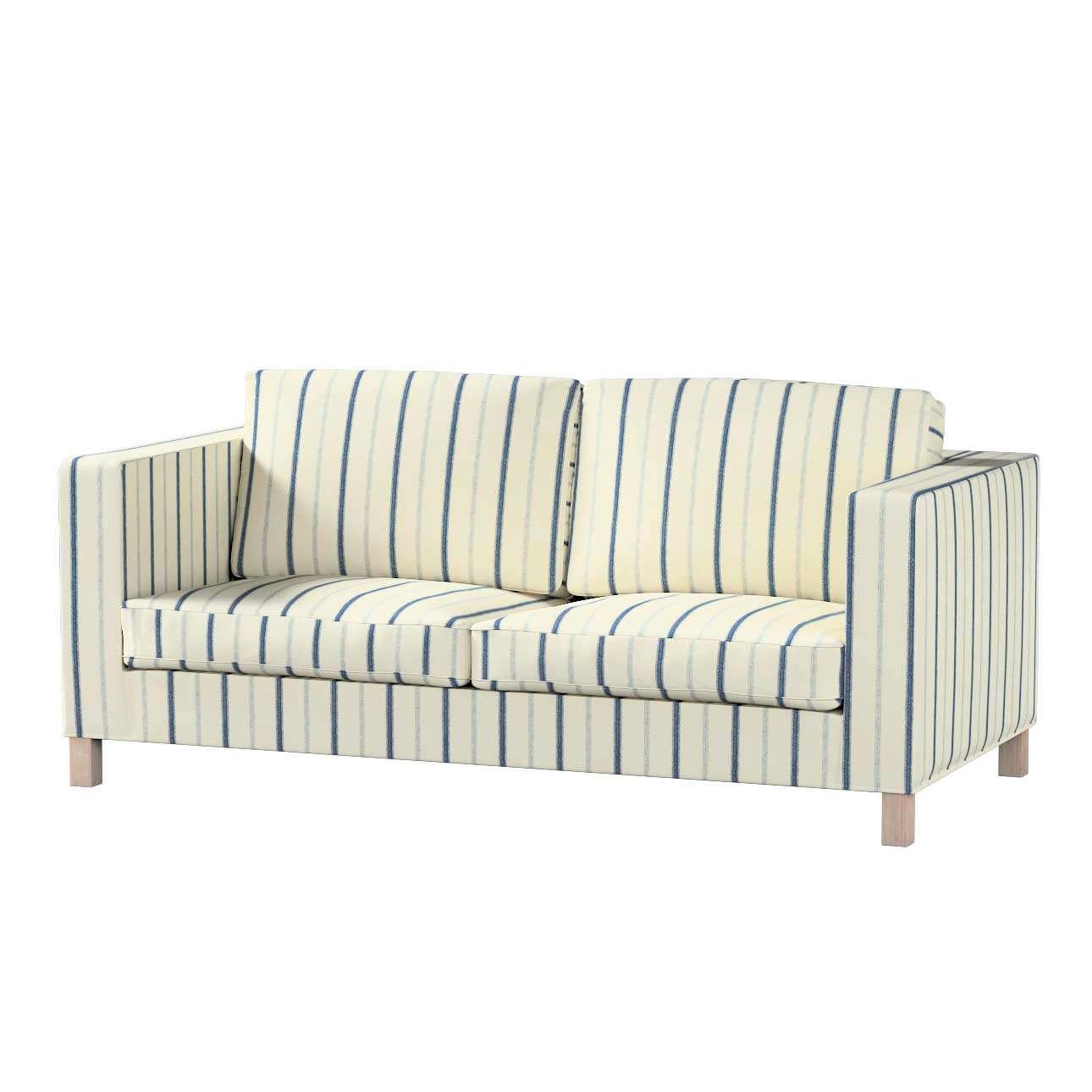 Pokrowiec na sofę Karlanda rozkładaną, krótki Sofa Karlanda rozkładana w kolekcji Avinon, tkanina: 129-66