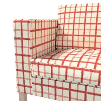 Pokrowiec na sofę Karlanda rozkładaną, krótki w kolekcji Avinon, tkanina: 131-15