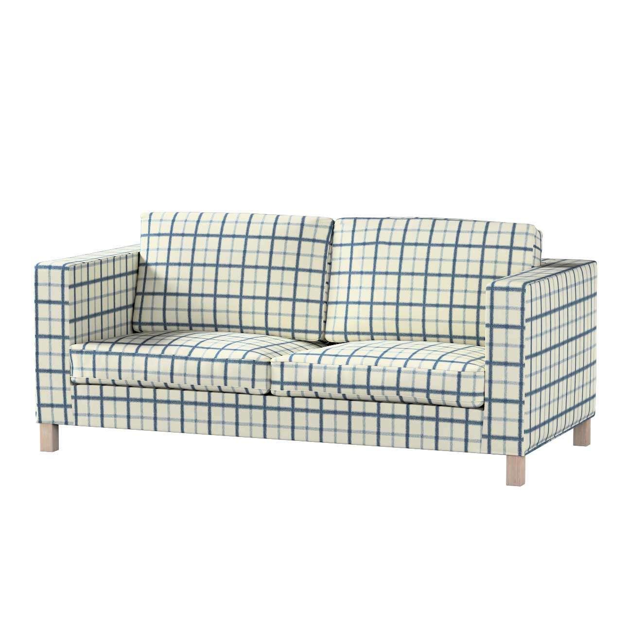 Pokrowiec na sofę Karlanda rozkładaną, krótki Sofa Karlanda rozkładana w kolekcji Avinon, tkanina: 131-66