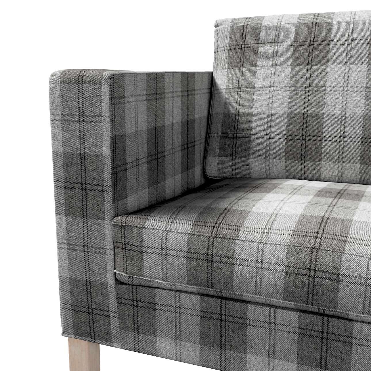 Pokrowiec na sofę Karlanda rozkładaną, krótki w kolekcji Edinburgh, tkanina: 115-75