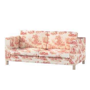 Pokrowiec na sofę Karlanda rozkładaną, krótki Sofa Karlanda rozkładana w kolekcji Avinon, tkanina: 132-15