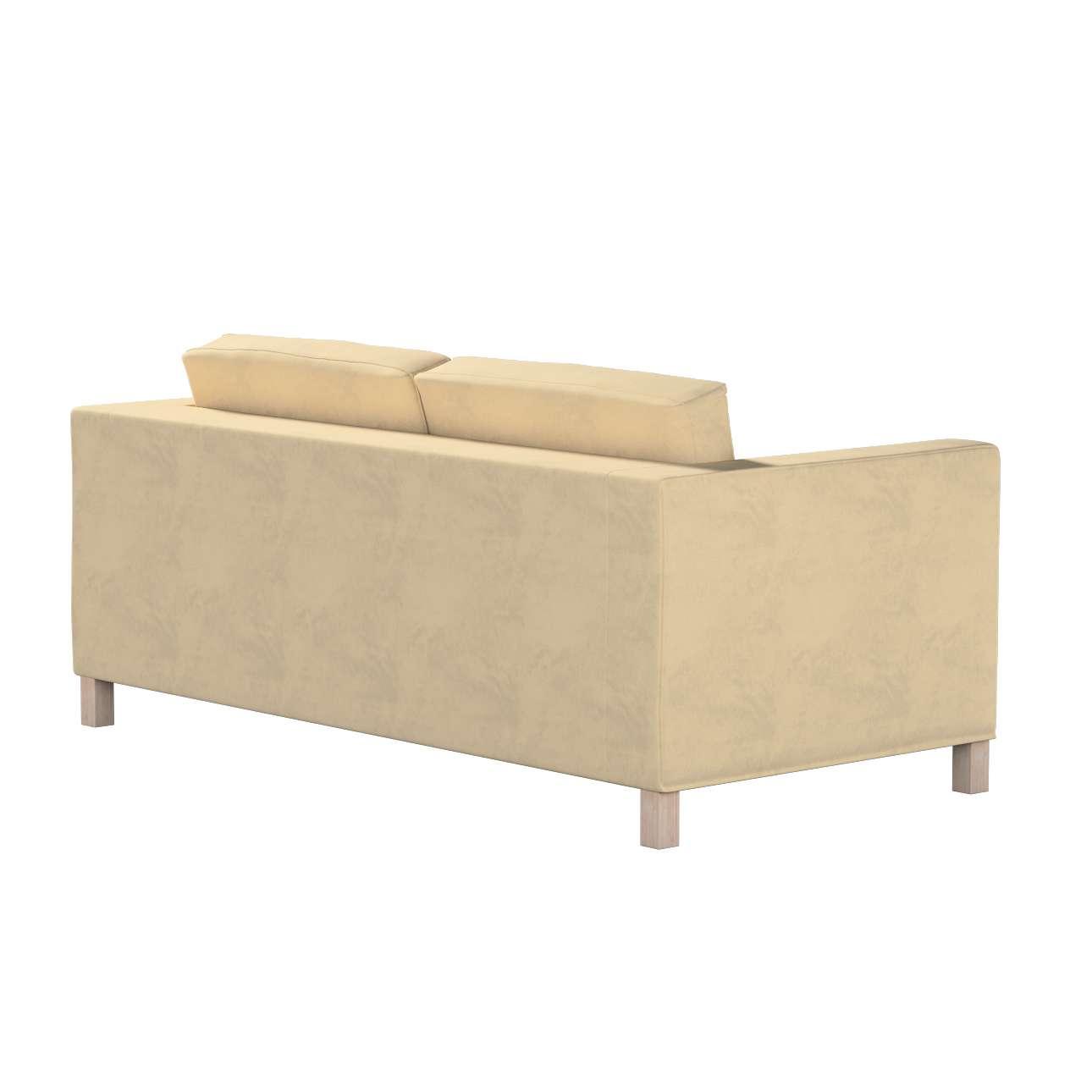 Pokrowiec na sofę Karlanda rozkładaną, krótki w kolekcji Living II, tkanina: 160-82