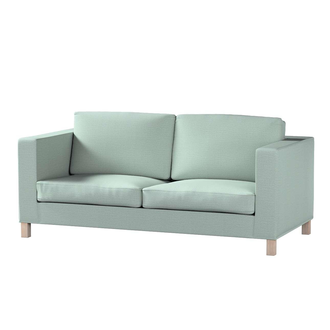 Pokrowiec na sofę Karlanda rozkładaną, krótki w kolekcji Living II, tkanina: 160-86
