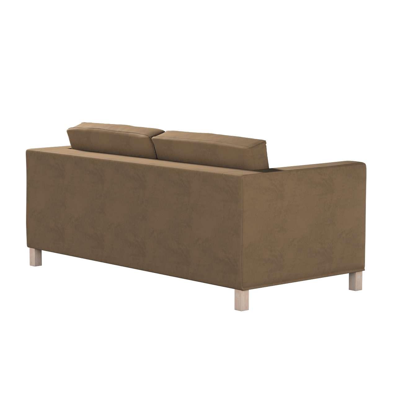 Pokrowiec na sofę Karlanda rozkładaną, krótki w kolekcji Living, tkanina: 160-94