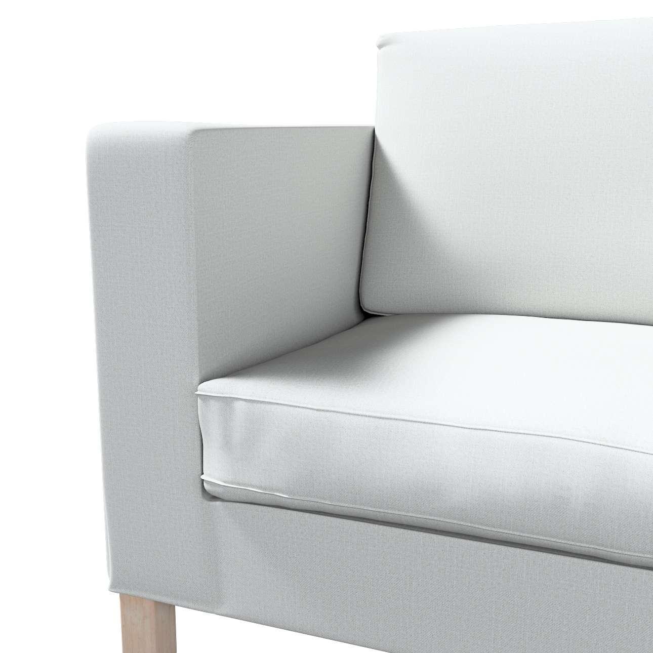 Pokrowiec na sofę Karlanda rozkładaną, krótki w kolekcji Living II, tkanina: 161-18